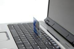 互联网购物 免版税库存图片