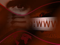 互联网 免版税库存照片