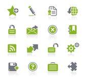 互联网natura加上系列选址万维网 免版税图库摄影