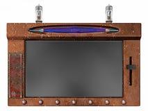 互联网steampunk片剂 库存图片