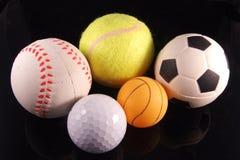 五个体育运动 免版税库存图片
