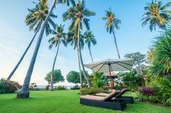 五个星别墅巴厘岛 库存图片