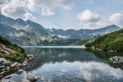 五个波兰池塘谷环境美化 免版税库存照片