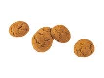 五个Pepernoten曲奇饼连续 库存图片