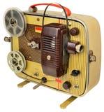 五十年代回家戏院放映机 免版税图库摄影