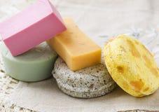 五块肥皂 免版税图库摄影