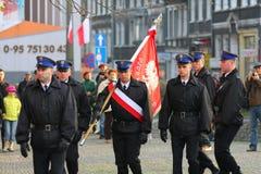 五天的独立波兰 免版税库存图片