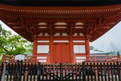 五层塔(Gojunoto)在宫岛海岛上 免版税库存照片