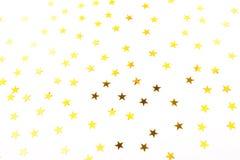 五彩纸屑形状的星形 皇族释放例证