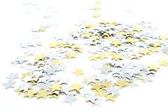 五彩纸屑星形 库存图片