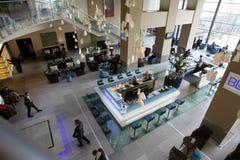五旅馆内部星形 免版税库存照片