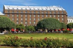 五星旅馆Astoria在圣彼得堡 免版税库存照片