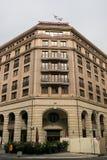五星旅馆Westin盛大在Friedrichstrasse 免版税库存图片