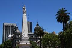五月广场在布宜诺斯艾利斯 免版税库存照片