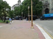 五月广场 库存图片