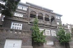 五条伟大的大道历史建筑在天津 免版税图库摄影