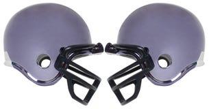 五橄榄球盔 库存图片