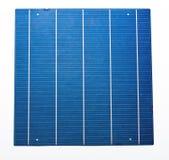 五母线太阳能电池 免版税库存照片