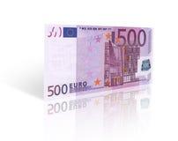 五百欧元 免版税库存照片