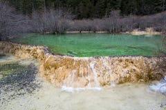 五种颜色湖 图库摄影