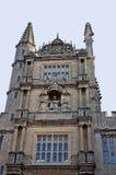五等级的塔, Bodleian图书馆塔,牛津大学, 免版税图库摄影