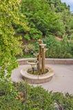 五级的喷泉 免版税库存照片
