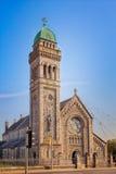 五行民谣的圣玛丽大教堂 免版税图库摄影