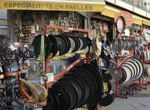 五金店在巴伦西亚,西班牙 库存照片