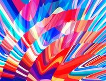 五颜六色上色背景 充满活力的向量图形 免版税图库摄影