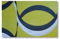 五颜六色减速火箭的墙纸背景 免版税库存照片
