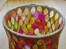 五颜六色和抽象玻璃 免版税库存图片