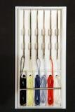五颜六色工具箱缝合 免版税库存图片