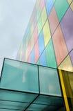 五颜六色抽象的大厦 免版税库存图片