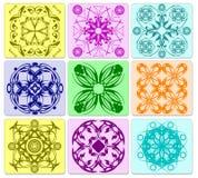 五颜六色抽象的背景 免版税库存照片
