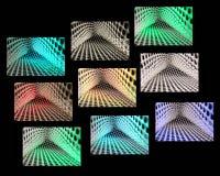 五颜六色抽象的背景 免版税图库摄影