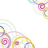 五颜六色抽象背景的庆祝 向量例证