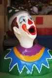 五颜六色狂欢节的小丑 免版税库存图片