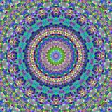 五颜六色的万花筒正方形 免版税库存图片