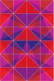 五颜六色的三角 免版税库存照片