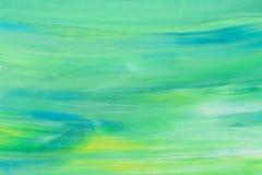 五颜六色的丙烯酸酯被弄脏的被绘的背景 库存图片