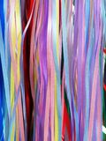 五颜六色的丝带 免版税图库摄影