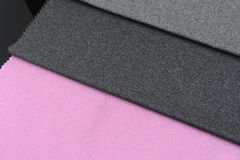 五颜六色的丝绸布料 库存图片