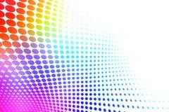 五颜六色的中间影调 向量例证