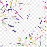 五颜六色的五彩纸屑明亮的闪闪发光  免版税库存图片