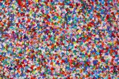 五颜六色的五彩纸屑 免版税图库摄影