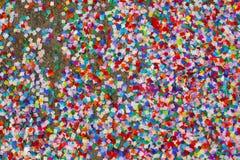 五颜六色的五彩纸屑 免版税库存照片