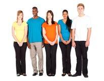 五颜六色的人分集 免版税库存照片