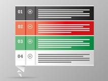 五颜六色的企业图讲话泡影 免版税库存照片