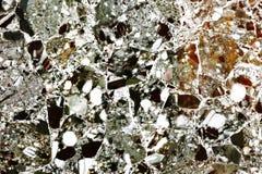 五颜六色的优越自然石材料 库存图片