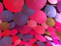 五颜六色的伞 图库摄影